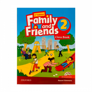 دوره FAMILY AND FRIENDS 2B (خانم عباسی)(۱)- ۵۰۱۸