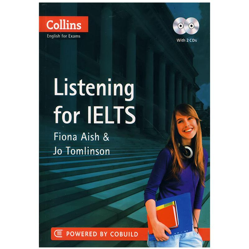 دوره listening for Ielts Intermediate از کتاب Collins