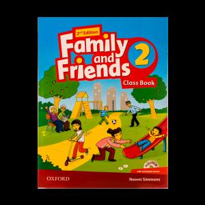 FAMILY AND FRIENDS*2*Cخانم عباسی آموزشگاه پرواز- ۵۰۴۱