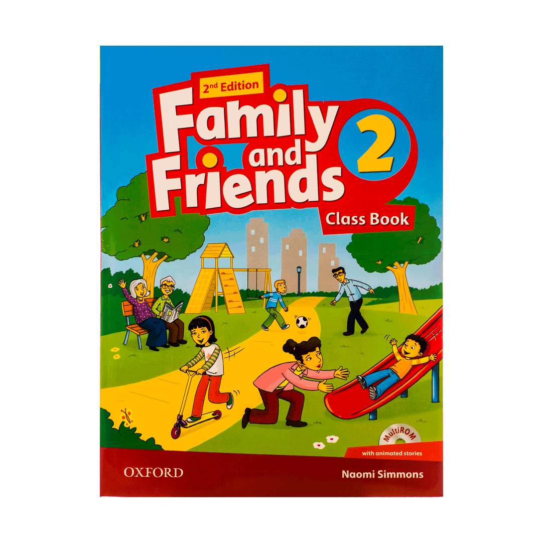 FAMILY AND FRIENDS 2A(خانم عباسی)-۴۰۰